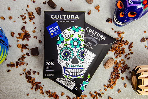 85% HAITI Dark Chocolate by CULTURA 26g.