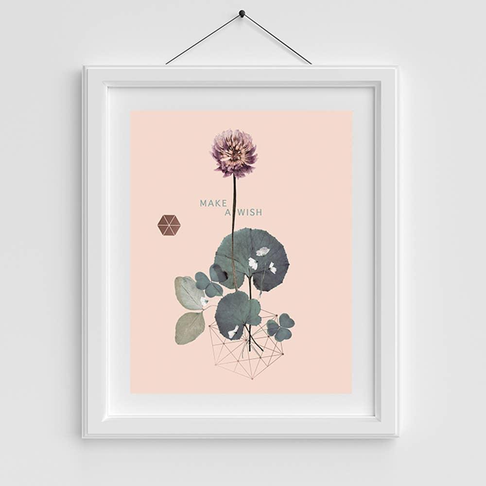 Copper Art Print- Sweet Clover