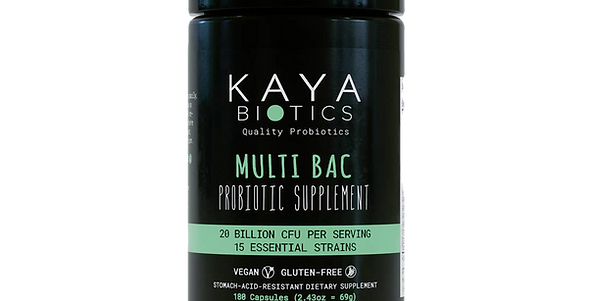 Multi Bac Probiotic – 1 Month Pack from KAYA BOITICS