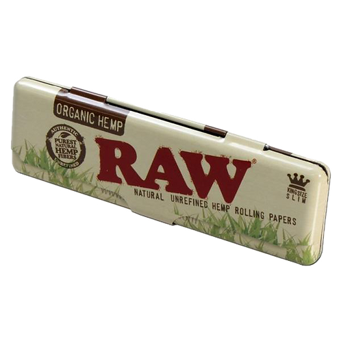 RAW Paper Case Organic. Cannabis Rolling Paper Case