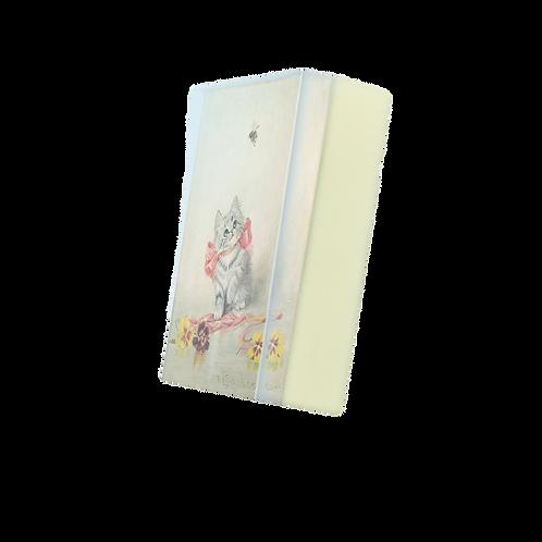 BODY SOAP: SWEET KITTEN VERSAILLES Print In Vegan Organic Soap