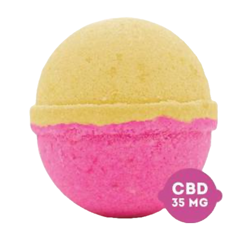 bby SHEA SKIN HEALER CBD Bath Bomb 35 mg CBD 2oz.