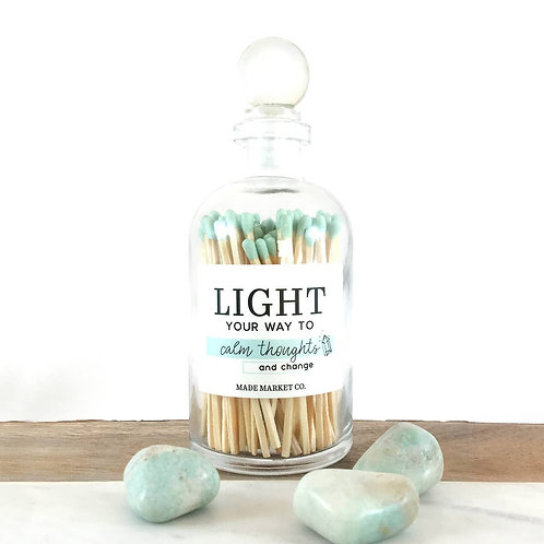 Light Your Way To Calm Thoughts and Growth Match Stick Set