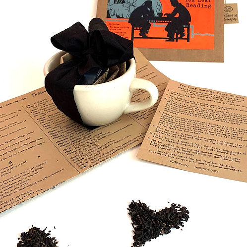 Tea Leaf Reading Kit with Tea For Two.