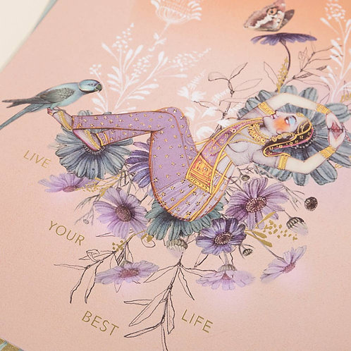 BEST LIFE Art Print. Meditation Gardens & Studio