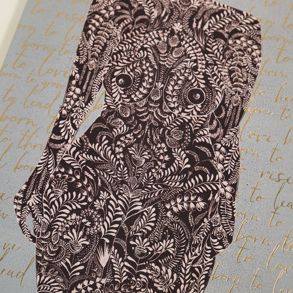 Art Print - Living Woman3
