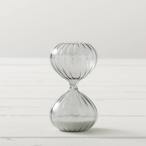 Hourglass 10 Min. Gray Timer Meditation Gardens