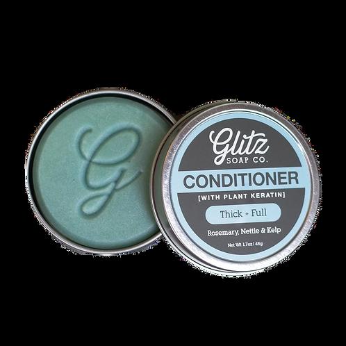 Thick + Full Natural Conditioner Bar 1.7oz. by Glitz Soap Co.