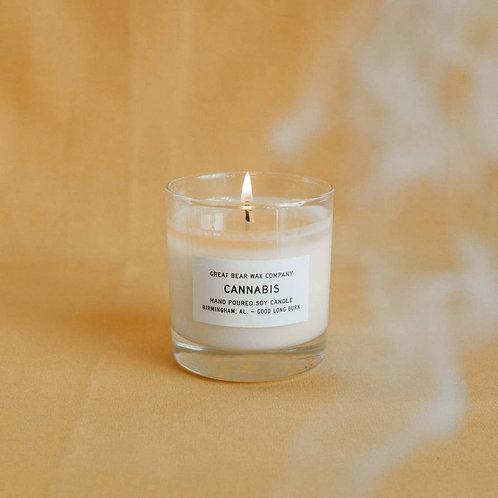 Cannabis Candle 11 oz. Great Bear Wax Co.