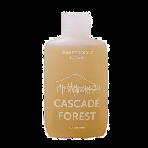 CASCADE FOREST SOAP – 2 oz Travel Organic Liquid Castille Soap + Essential Oils