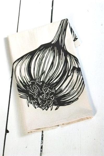 Organic Cotton Tea Towel. Sustainable, Eco-Friendly, Zero-Waste Kitchen