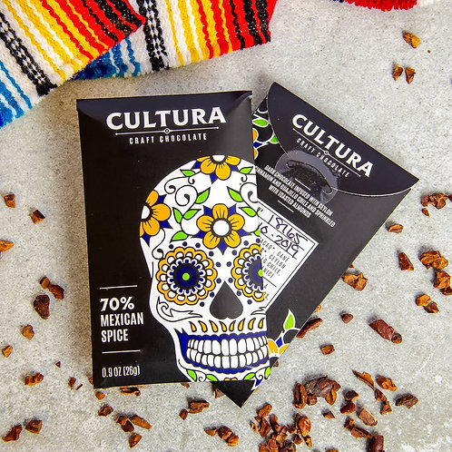 MEXICAN SPICE Dark Chocolate by CULTURA 26g.