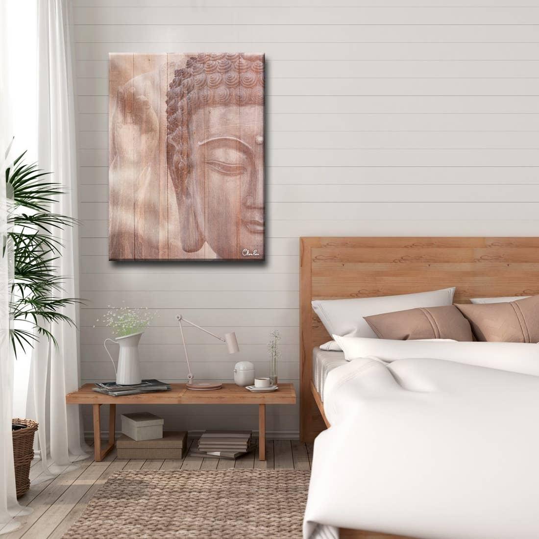 'Buddha' Inspirational Canvas Art by Oli