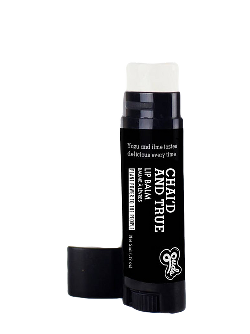 Chai'd and True Lip Balm 5g. Fair Trade Organic Vegan Cruelty-Free Cosmetics