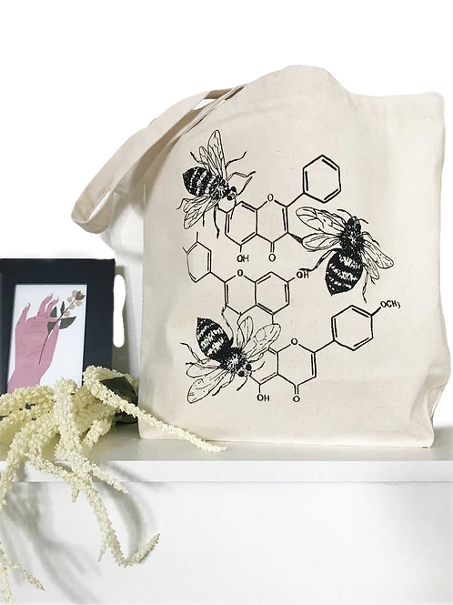 HONEY CHEMISTRY: Wellness Market Tote by THE COIN LAUNDRY