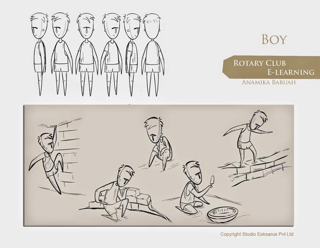 Rotary Club - ELearning - Boy