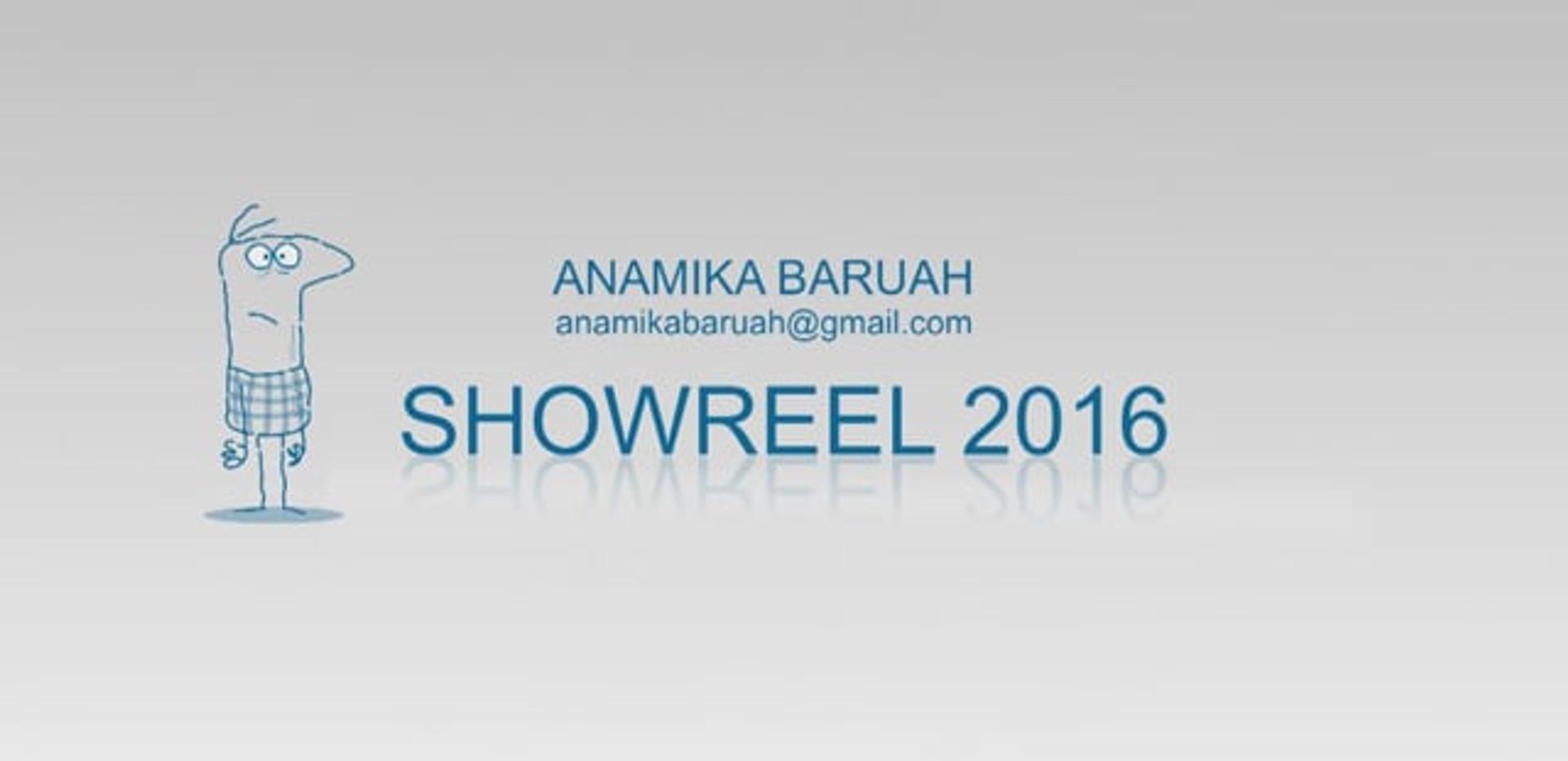 Anamika Baruah's Animation Reel 2016