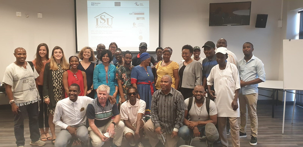 The participants of the dissemination event in Durban, held at the University of KwaZulu-Natal.