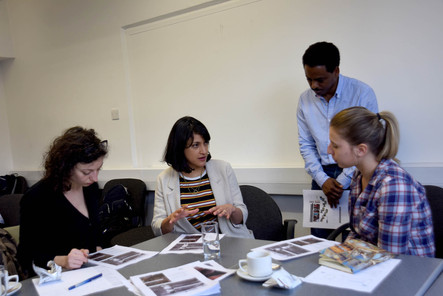 UK team deliver training on action research and participatory approaches