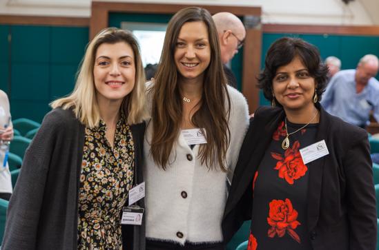 The core team: Dr Maria Christina Georgiadou (UoW, PI), Dr Iwona Bisaga (UCL, RA) and Dr Priti Parikh (UCL, Co-I). Absent: Dr Claudia Loggia (UKZN, PI).
