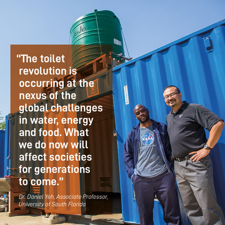 How to tackle the sanitation challenge? #ReinventedToilet