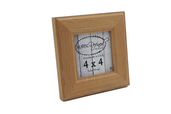 4x4 Moab picture frame - Natural Alder