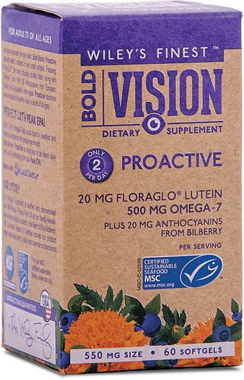 Wileys Finest Fish Oil- Bold Vision