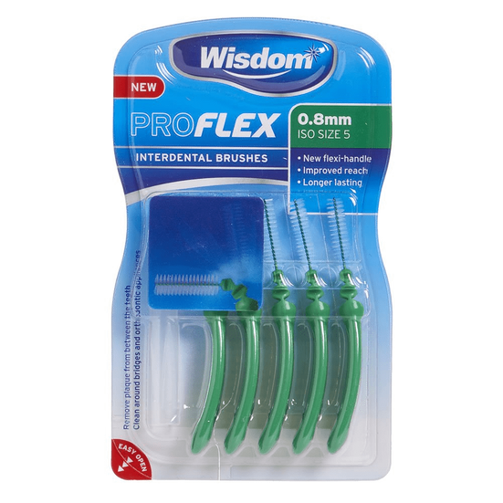 Wisdom Interdental Brushes 0.8mm