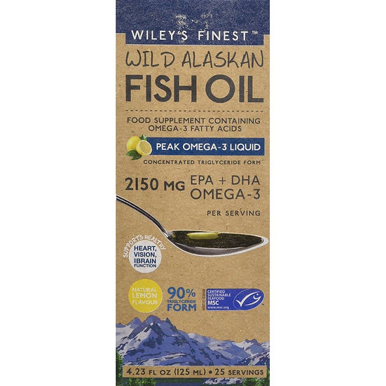 Wileys Finest Fish Oil- 2150 MG