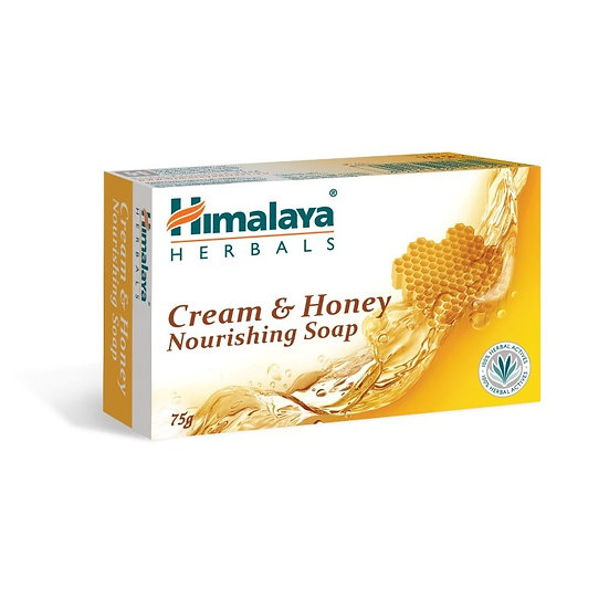Himalaya Cream & Honey Soap 75g