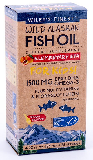 Wileys Finest Fish Oil Kids- 1500 MG