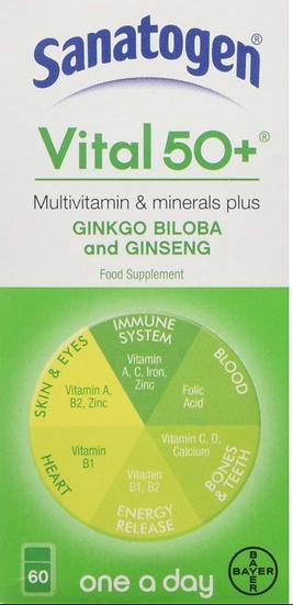 Sanatogen Vital 50+ Multivitamin