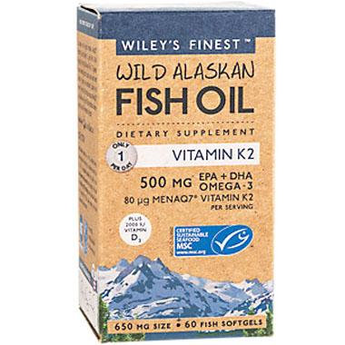 Wileys Finest Fish Oil- Vitamin K2