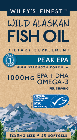 Wileys Finest Fish Oil- 1000 MG