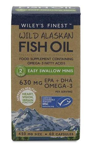Wileys Finest Fish Oil- 630 MG