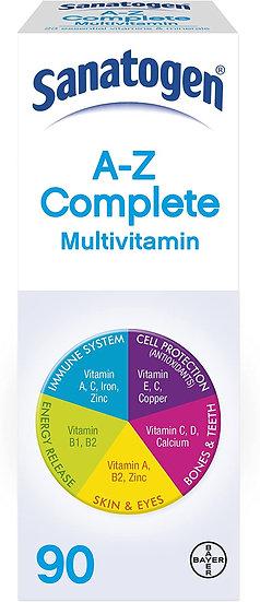 Sanatogen A-Z Multivitamin