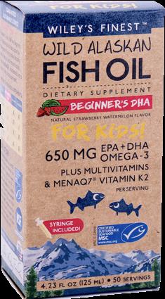 Wileys Finest Fish Oil Kids- 650MG