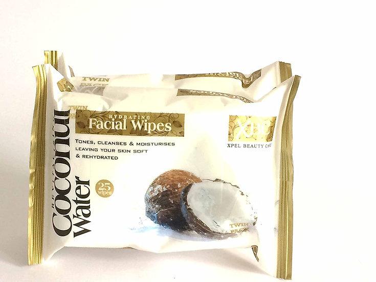 Revitalising Coconut Facial Wipes