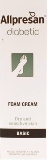 Allpresan Diabetic Basic Foam Cream 125ml