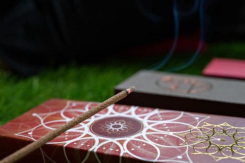 Flower Mandala線香 ~吸引人緣和愛 (短裝)