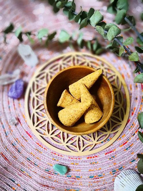 秘魯聖木塔香 (一盒12個 + 塔香座)