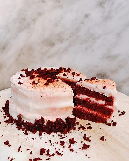 紅絲絨蛋糕 Red Velvet Cake (6inch)