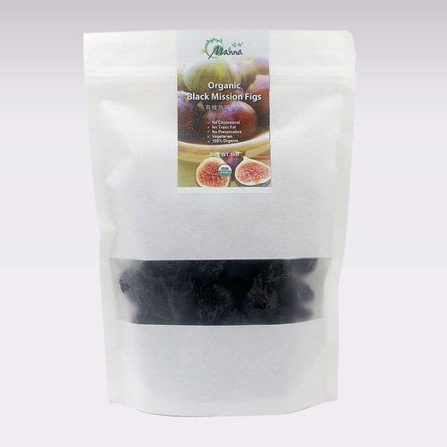 有機無花果乾 Organic Black Mission Figs 1lb