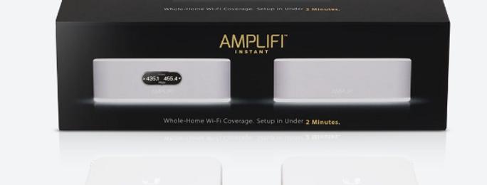 Ubiquiti AmpliFi Instant Router +1 MeshPoint Kit   AFI-INS