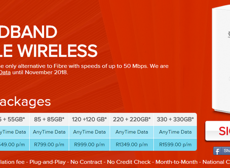 Get 330GB FREE DATA for the next 12 Months if you sign up in the next 24 Hours