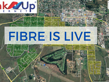 Fibre is LIVE in Vryheid
