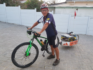 5000 Km in 76 Days for Charity