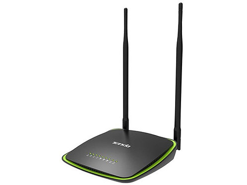 Tenda 300Mbps WiFi Router & Universal Repeater