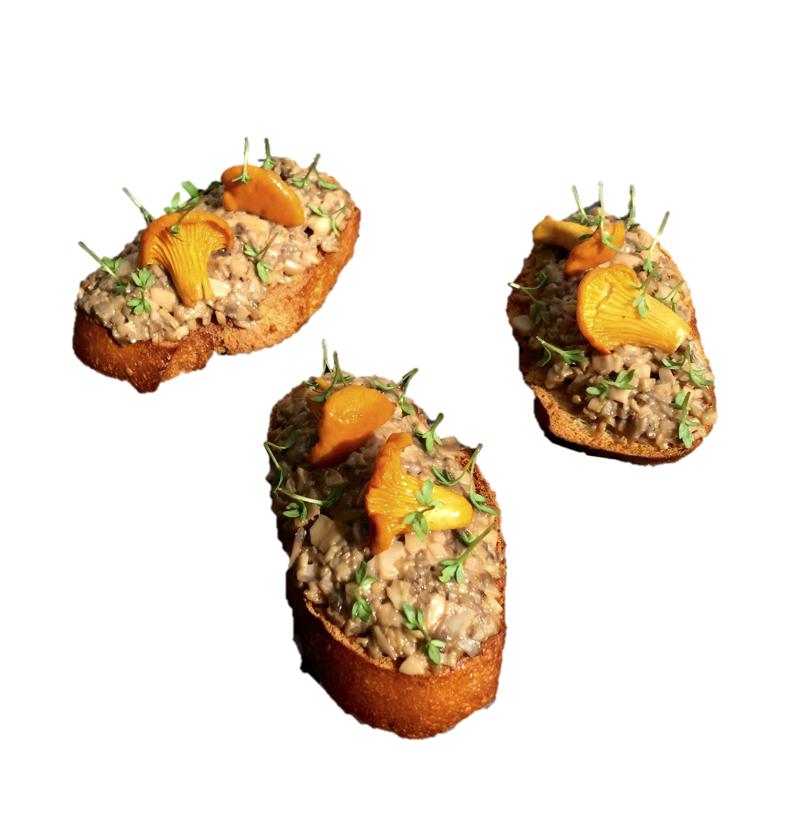 Crustini m/ Sopp (Catering)