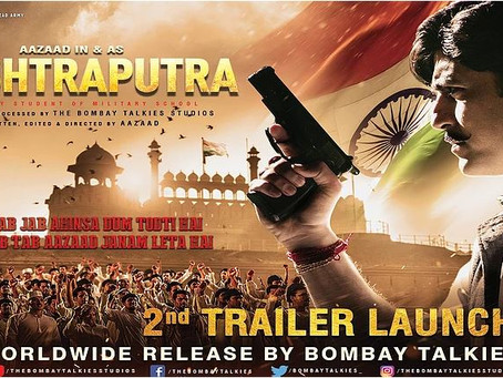 THE BOMBAY TALKIES STUDIOS UNVEILED THE 2ND TRAILER OF RASHTRAPUTRA